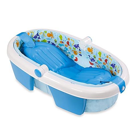 summer infant foldaway baby bath tub. Black Bedroom Furniture Sets. Home Design Ideas