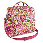 Vera Bradley Convertible Baby Bag in Clementine