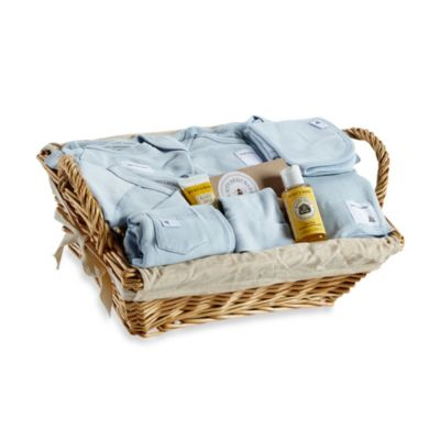 Burt's Bees Baby™ Welcome Home 10-Piece Gift Basket in Sky
