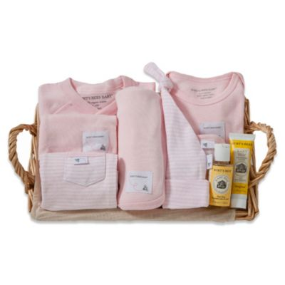 Burt's Bees Baby® Size 6-9M Take Me Home Gift Basket in Honeybee Blossom