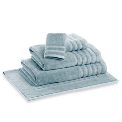 DKNY Luxe Bath Towel in Light Blue