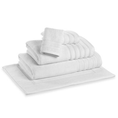 DKNY White Bath Towel