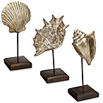 Metallic Ocean-Theme Tabletop Stands