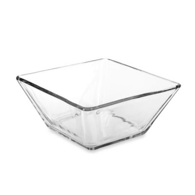 Libby Glass Tempo 9-Inch Square Bowl