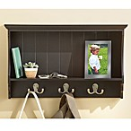 Entryway Wall Storage with Coat Hooks