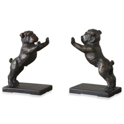 Uttermost Bulldogs Bookends