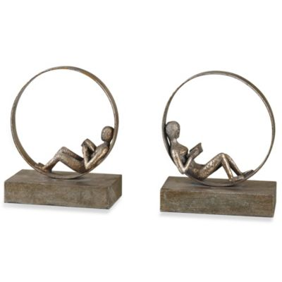 Uttermost Lounging Reader Bookends