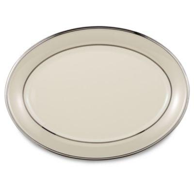 Lenox® Ivory Frost™ 16-Inch Oval Platter