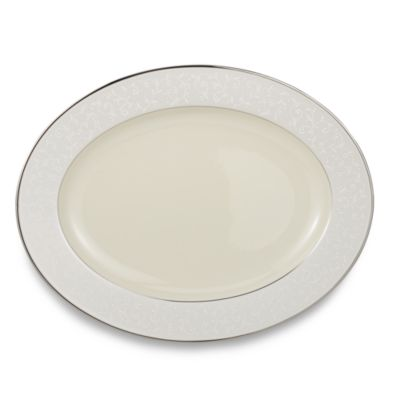 Lenox® Pearl Innocence™ 16-Inch Oval Platter