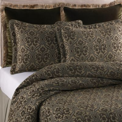 Raymond Waites Fortuny Green European Pillow Sham