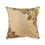 Raymond Waites Fortuny Green 18-Inch Square Toss Pillow