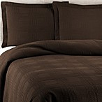 Traditions Linens Farrah Standard Pillow Sham in Chocolate