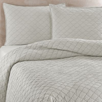 Traditions Linens Louisa Pillow Sham in Mist