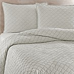 Traditions Linens Louisa Coverlet in Mist