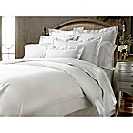 Kassatex Vicenza Duvet Cover in White/Ash