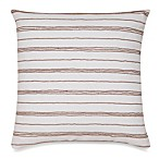 Jill Rosenwald® Jills Key Beaded Stripes Square Toss Pillow