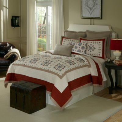 Nostalgia Home® Bukhara Quilted Pillow Shams
