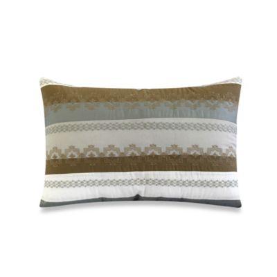 Nostalgia Home® Highland Park Oblong Toss Pillow