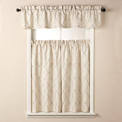 Wellington Window Curtain Tier Pair in Cream