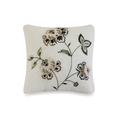 Nostalgia Home® Flowering Vine Square Toss Pillow