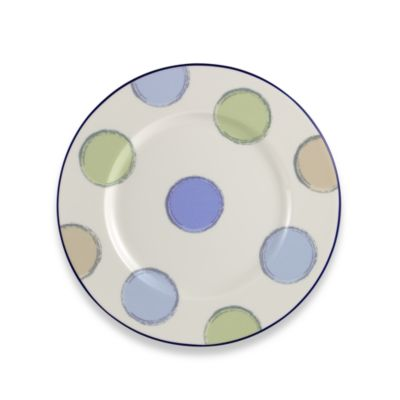 Java Blue 8 1/2-Inch Salad Plate
