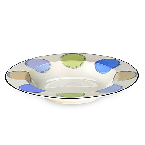 Java Blue 9 1/2-Inch Soup Bowl
