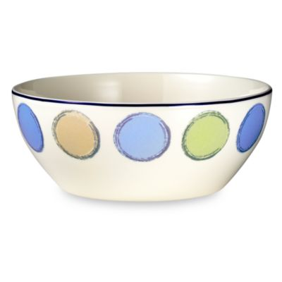 Java Blue 47-Ounce Small Serving Bowl