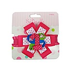 So 'Dorable® Pink and Red 1st Birthday Ribbon Clippie
