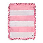 Just Born® Striped Popcorn Blanket