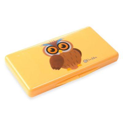 Uber Mom Wipebox in Orange Owl