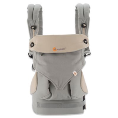 Four-Position 360 Baby Carrier in Grey