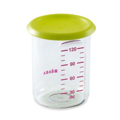 BEABA® 5-Ounce Portions Storage Container with Green Lid