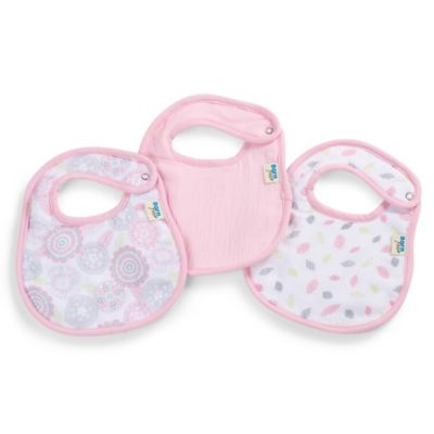 Born Free® Soft Clean Bibs in Moroccan Floral (Set of 3)