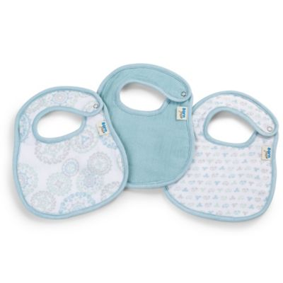 Born Free® Soft Clean 3-Pack Bibs in Deco Circle