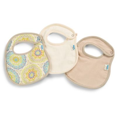 Born Free® Soft Clean 3-Pack Bibs in Medallion