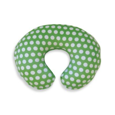 Boppy® Printed Plush Slipcover in Green Dot