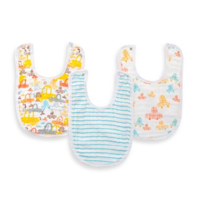 aden™ by aden + anais® 3-Pack Bib Set in Sunday Drive