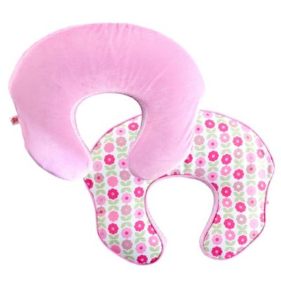 Comfort & Harmony™ mombo Deluxe™ Covered Nursing Pillow Slipcover in Blush n Bloom™