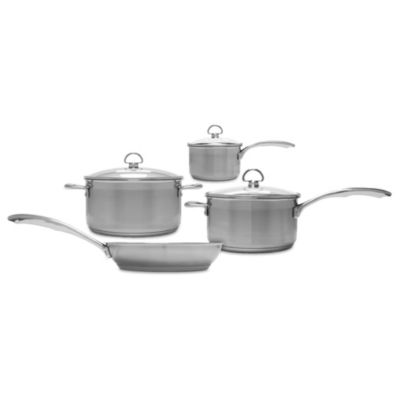Chantal® Induction 21 Steel™ 7-Piece Cookware Set