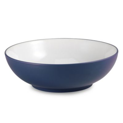 Noritake® Kona Indigo 64-Ounce Round Vegetable Bowl