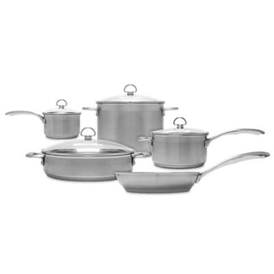Chantal® Induction 21 Steel™ 9-Piece Cookware Set