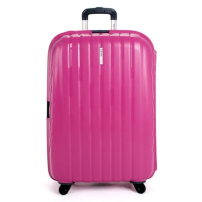DELSEY Helium Colours 30-Inch Spinner Hardside Suitcase in Rose