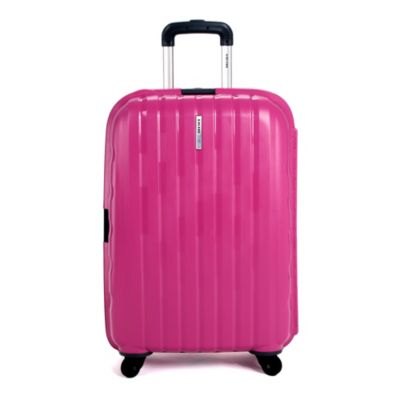 DELSEY Helium Colours 26-Inch Spinner Hardside Suitcase in Rose