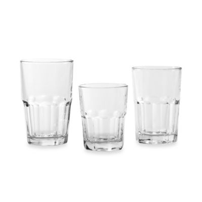 Libbey® Crisa Boston 18-Piece Glassware Set