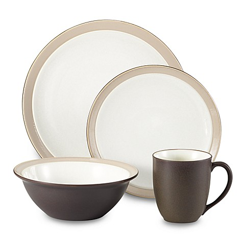 Noritake® Kona Coffee 4-Piece Place Setting