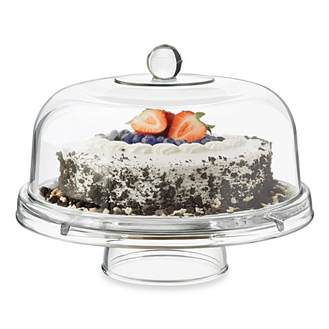 Dailyware Glass 6 In 1 Footed Cake Dome Bed Bath Amp Beyond