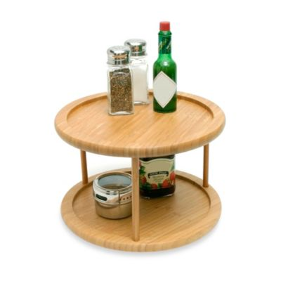 Bamboo 2-Tier 10-Inch Turntable
