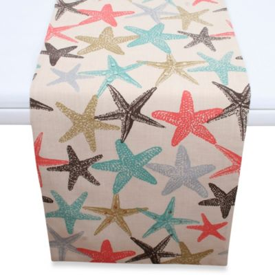 Thro Coastal Starfish Runner with Sequins