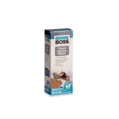 Grime Boss® 30-Count Touch Screen Wipes