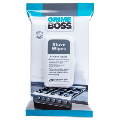 Grime Boss® 20-Count Stove Wipes